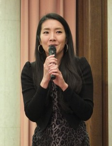 祖父是台灣人的彩愛玲表示希望有機會到金門,舉辦音樂會