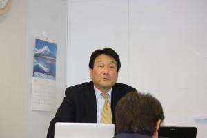 株式会社ブレイン・サプライの坂井優取締役