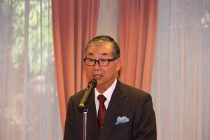 毛利友次日本中華連合総会会長