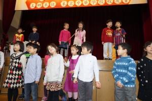 小学生の演舞