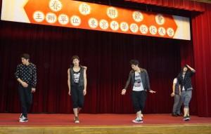 高校生のダンス