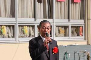 日本中華聯合総会毛利友次会長