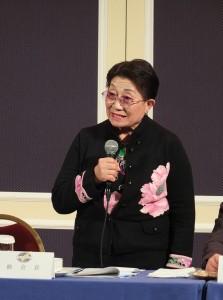 日本台灣商會聯合總會總會長石佳子,因未將總會印章與存摺移交給財務長引發爭議