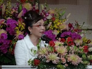 大阪台湾同郷会会長 謝美香