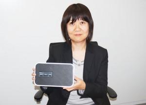 担当:NTTアドバンステクノロジ株式会社 情報機器テクノロジセンタ 主査 江口恭子さん