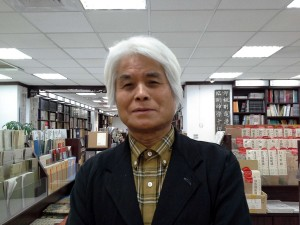 日本書法家原田歷鄭為了藝術交流訪台150次