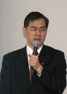 台湾貿易センターの陳英顕東京事務所所長