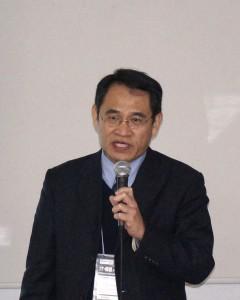 台湾スマートグリッド産業協会の林法正理事長