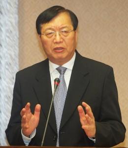 行政院今天公布由陳威仁接任內政部長一職(照片提供:中央社)