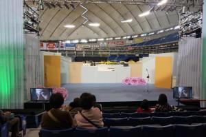 「世界らん展日本大賞2014」メインステージ