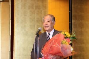 玉澤徳一郎亜東親善協会名誉会長
