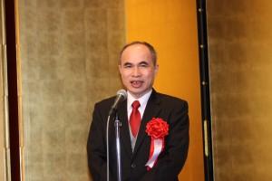 台北駐日経済文化代表処の余吉副代表