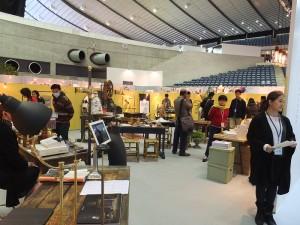 展場內特別設置台灣文創工藝展示空間,首度邀請台灣文創品牌到日本參展