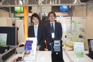 大同股份有限公司の陳杰克さん(右)、范維仁さん(左)