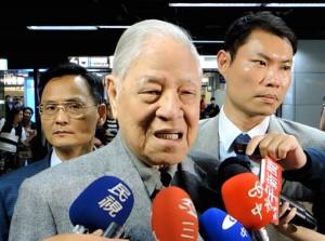 元中華民国総統の李登輝氏(写真提供:中央社)