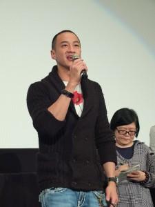 台日合作電影《只要一分鐘》男主角何潤東表示,電影是一部很有溫度的作品