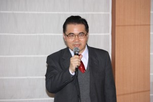 財団法人台湾玩具&児童用品研究開発センターの黄獻平ジェネラルマネージャー(博士)