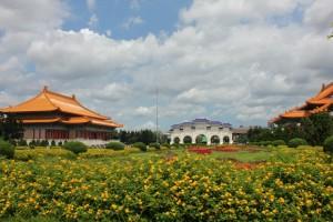 観光客に大人気の観光地「中正記念堂」