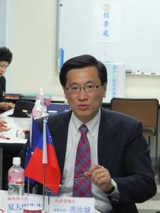 國民黨海外部主任夏大明專程到日本參加國民黨東京直屬支部的委員重選