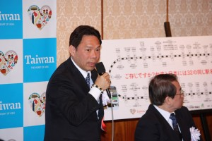 台湾観光協会東京事務所江明清所長