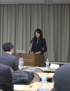台湾のバイオ医薬審査や早期審査施策を担当している吳佳穎課長