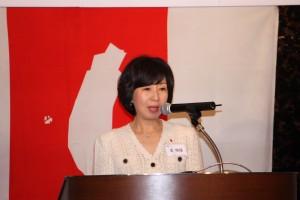 台湾独立建国聯盟日本本部王明理委員長