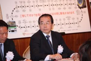 台湾鉄路管理局鹿潔身副局長