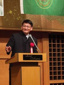 客委會副主委劉慶中表示很開心看到客家文化在日獲得宣揚