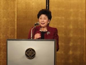 中華民國留日東京華僑婦女會會長吳淑娥表示會秉持團結婦女力量,並協助國家做好國民外交