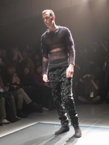 這季古又文首度嘗試男裝設計,主要是因為有不少買家希望古又文推出男裝