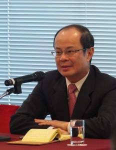 駐日代表沈斯淳對學生占據立院一事表示,相信台灣有足夠的智慧可以理性處理