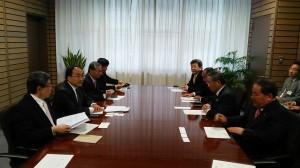 拜會和歌山縣議會(照片提供:駐大阪辦事處)