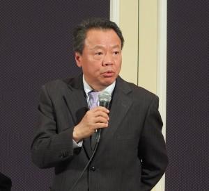 會議上由駐日代表處僑務組組長趙雲華列席指導
