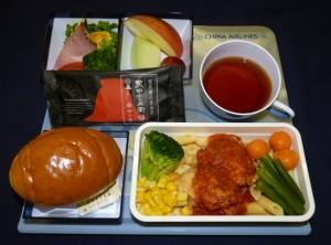 チャイナエアライン機内食に搭乗した「黒田官兵衛」