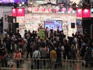 niconico超會議3首次設有國際交流企劃,由「超你好台灣」攤位和台灣會場進行連線