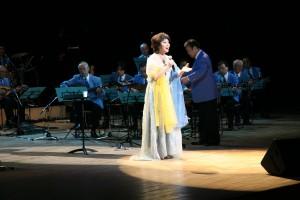 ソプラノ歌手の呂麗莉さん(写真提供:明治大学マンドリンOB倶楽部)
