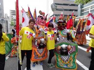 朝氣十足的台灣團隊