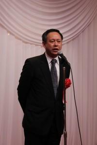 挨拶を行う台北駐日経済文化代表処徐瑞湖副代表