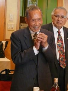 今年100歳を迎える林錦漫氏