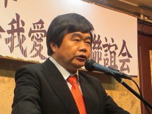 協賛する台北駐福岡経済文化弁事処の戎義俊処長