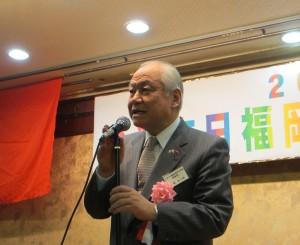 協賛する九州不動産専門学院・小菅亥三郎理事長