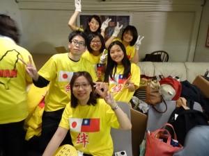 参與活動的留學生