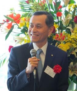 中華航空日本支社社長石炳煌表示華航7月起每周在台日間有160各航班,顯示雙方往來頻繁