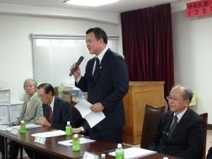 駐大阪辦事處僑務組長陳敏永