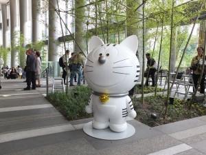 「虎之門Hills」吉祥物「虎之門」(Toranomon)象徵集結迎向未來的創新想法