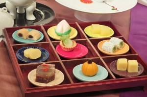 多寶格御點盛裝9種甜點