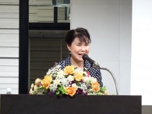 駐大阪辦事處處長蔡明耀夫人林玲玉女士