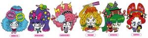 「Tokyo Crazy Kawaii Taipei」推出吉祥物,代表渋谷、原宿等地區特色