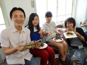 理事張原銘說、粽子是幸福的家鄉味
