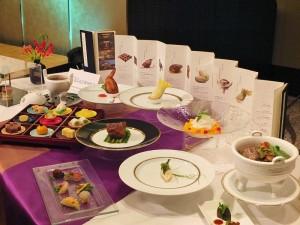 期間限定推出的限量「國寶宴」,飯店人員表示預約狀況約8、9成滿